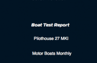Pilothouse 27 Boat Test