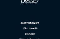 Pilothouse 25 Boat Test